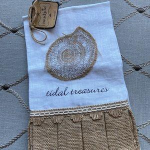 Mudpie Linen Hand Towel